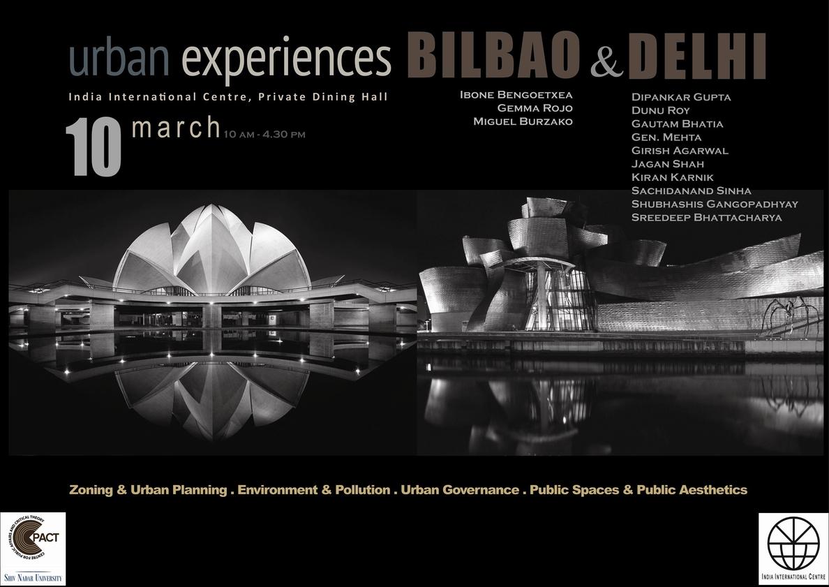 Bilbao expone en la India su modelo de transformación urbana