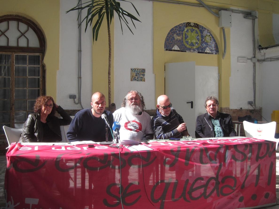 La Casa Invisible tendrá antes de Semana Santa la primera fase del plan de mejoras exigido por el Ayuntamiento