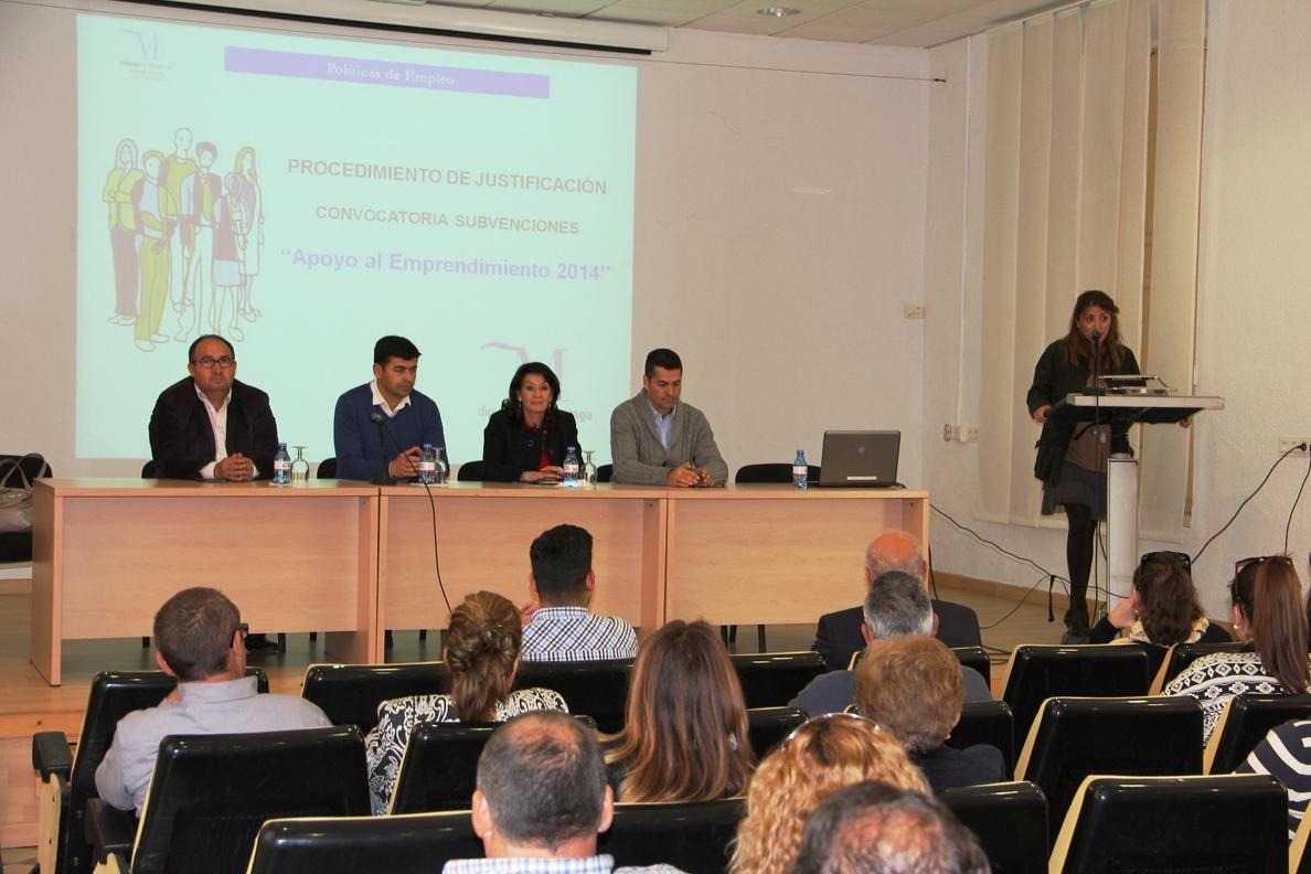 La Diputación destina 270.000 euros al Programa de Apoyo al Emprendimiento con 116 beneficiarios en la provincia