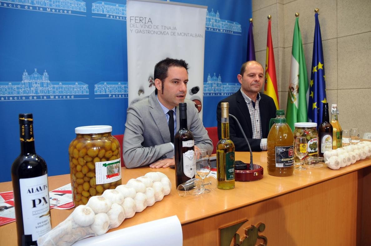 La III Feria del Vino de Tinaja y Gastronomía de Montalbán acogerá a una treintena de expositores