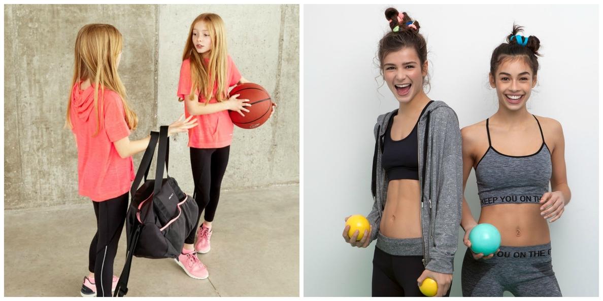 Inditex apuesta por el deporte con la primera línea »gymwear» de Pull&Bear y de Zara Kids