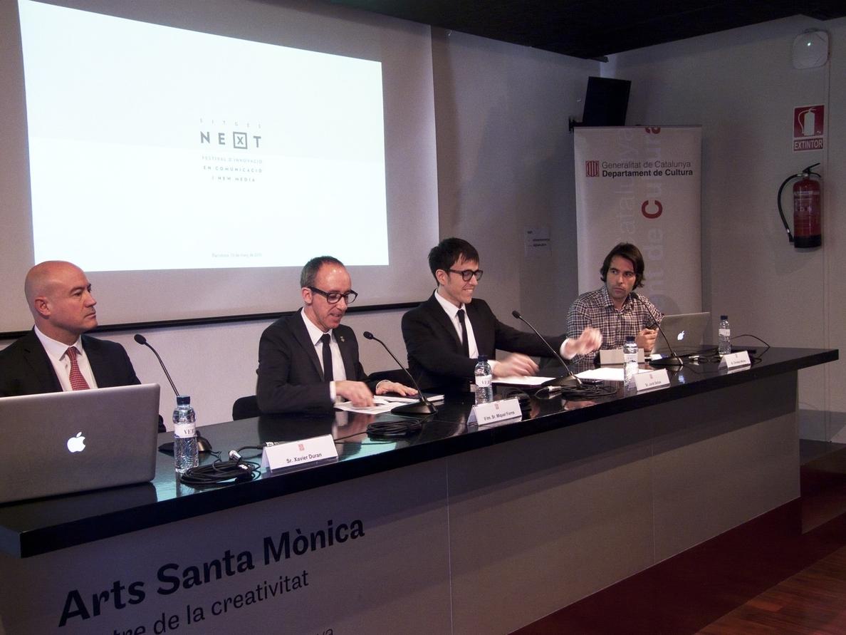El festival Next nace com punto de encuentro para las industrias creativas de comunicación y »new media»
