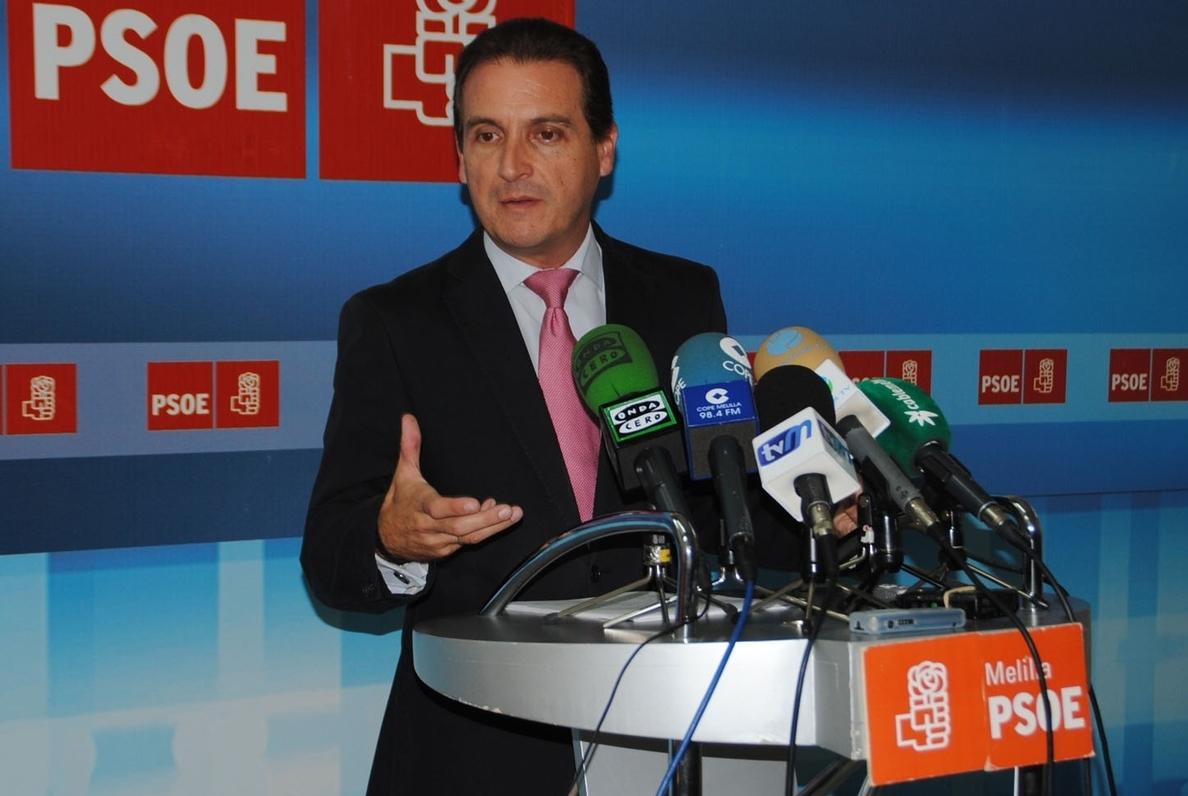 El PSOE dice que «los melillenses se merecen poder elegir entre líderes políticos» que no estén imputados