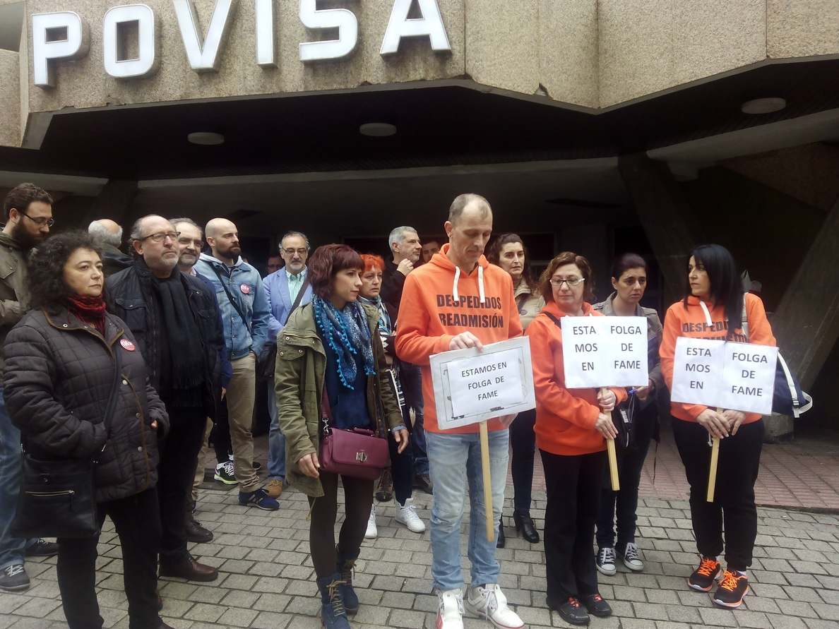 El comité de Povisa pide intervención del Sergas porque «si es por la empresa, los de la huelga se mueren de hambre»