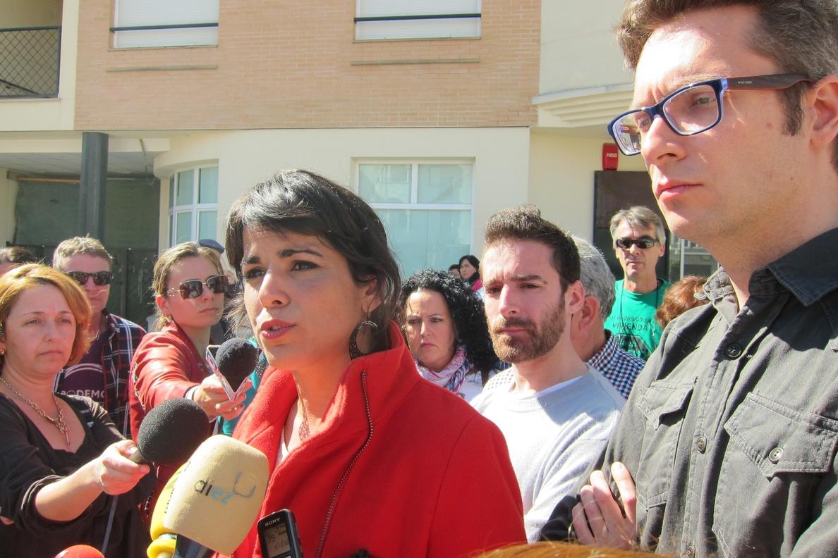 Rodríguez (Podemos) defiende la utilidad que tiene una «banca útil con control social» para la economía productiva