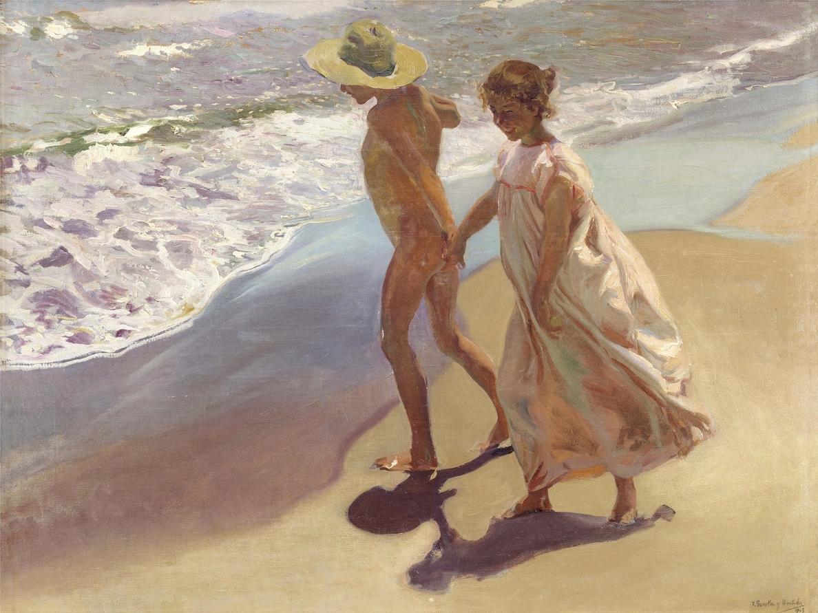 El Thyssen hace un recorrido por el ocio en las playas a través de pintores como Sorolla o Hopper