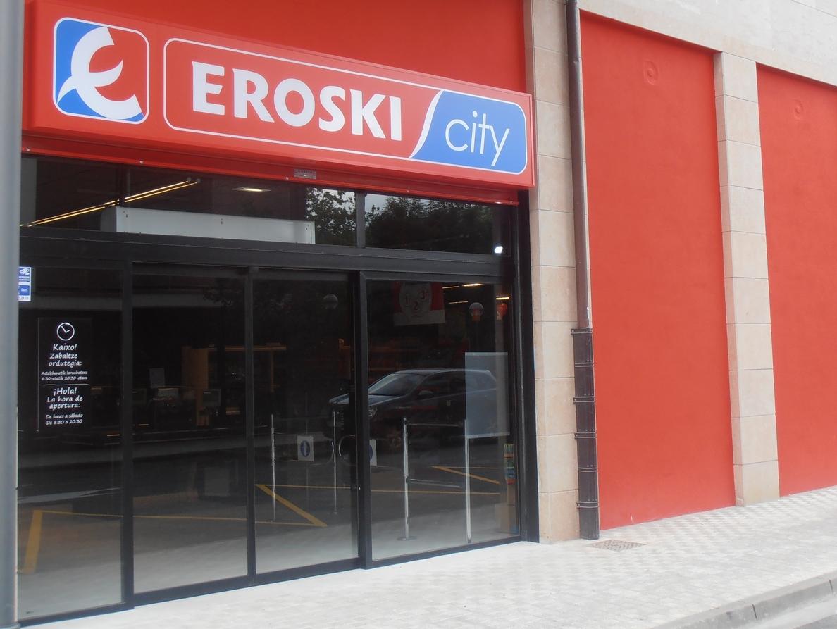 Los súper franquiciados de Eroski elevan sus ventas un 6% en 2014