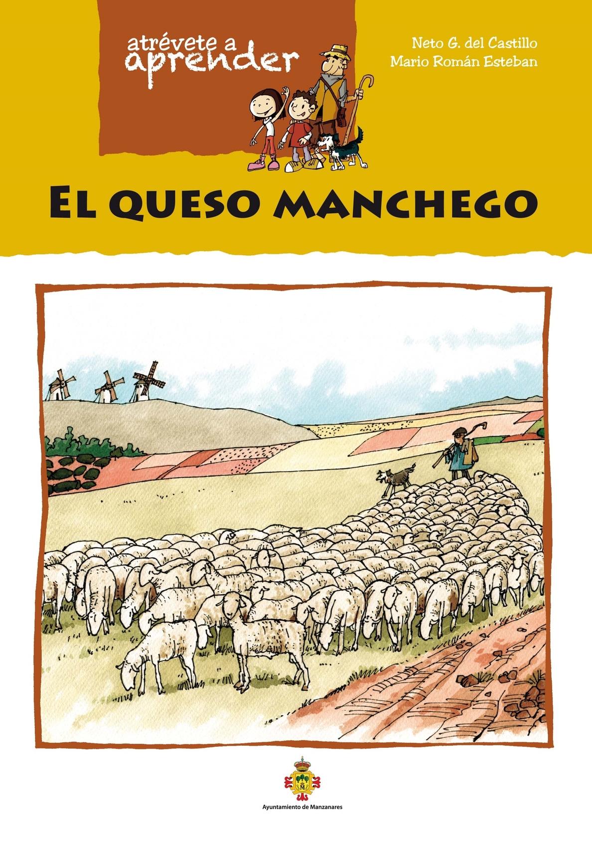 El Museo del Queso Manchego envía a la princesa Leonor y la infanta Sofía un cómic para que conozcan este producto