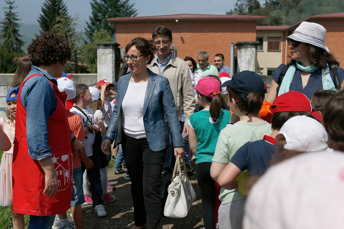 Cogersa premia al colegio El Parque, de Blimea, por su «compromiso con el reciclaje»