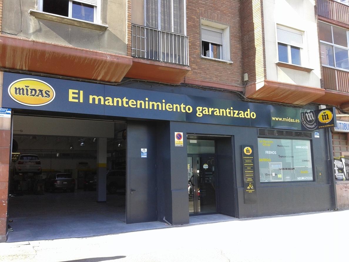 Midas abre su cuarto centro en Zaragoza