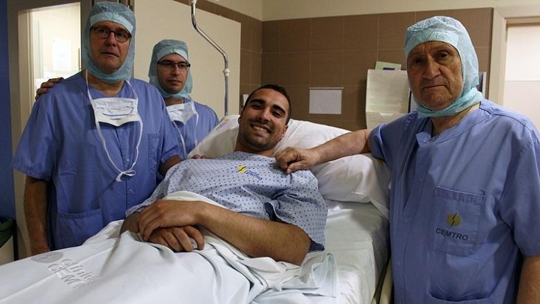 Sergio Asenjo, intervenido con éxito en la rodilla derecha