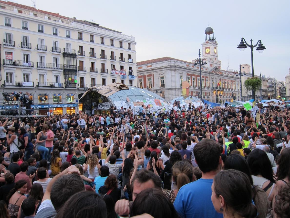 El 15M reafirma que irá el 23 a Sol para celebrar un acto político, que «no es electoral ni partidista»