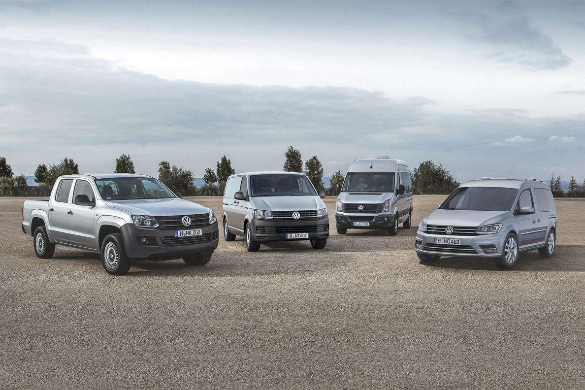Volkswagen Vehículos Comerciales mejora un 5% sus ventas mundiales