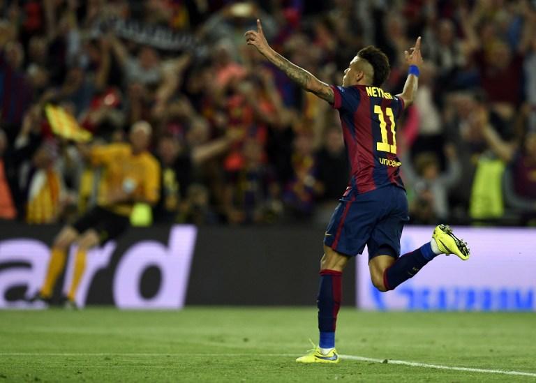 Neymar, con un doblete, y las manos de Ter Stegen ponen al Barça camino de Berlin