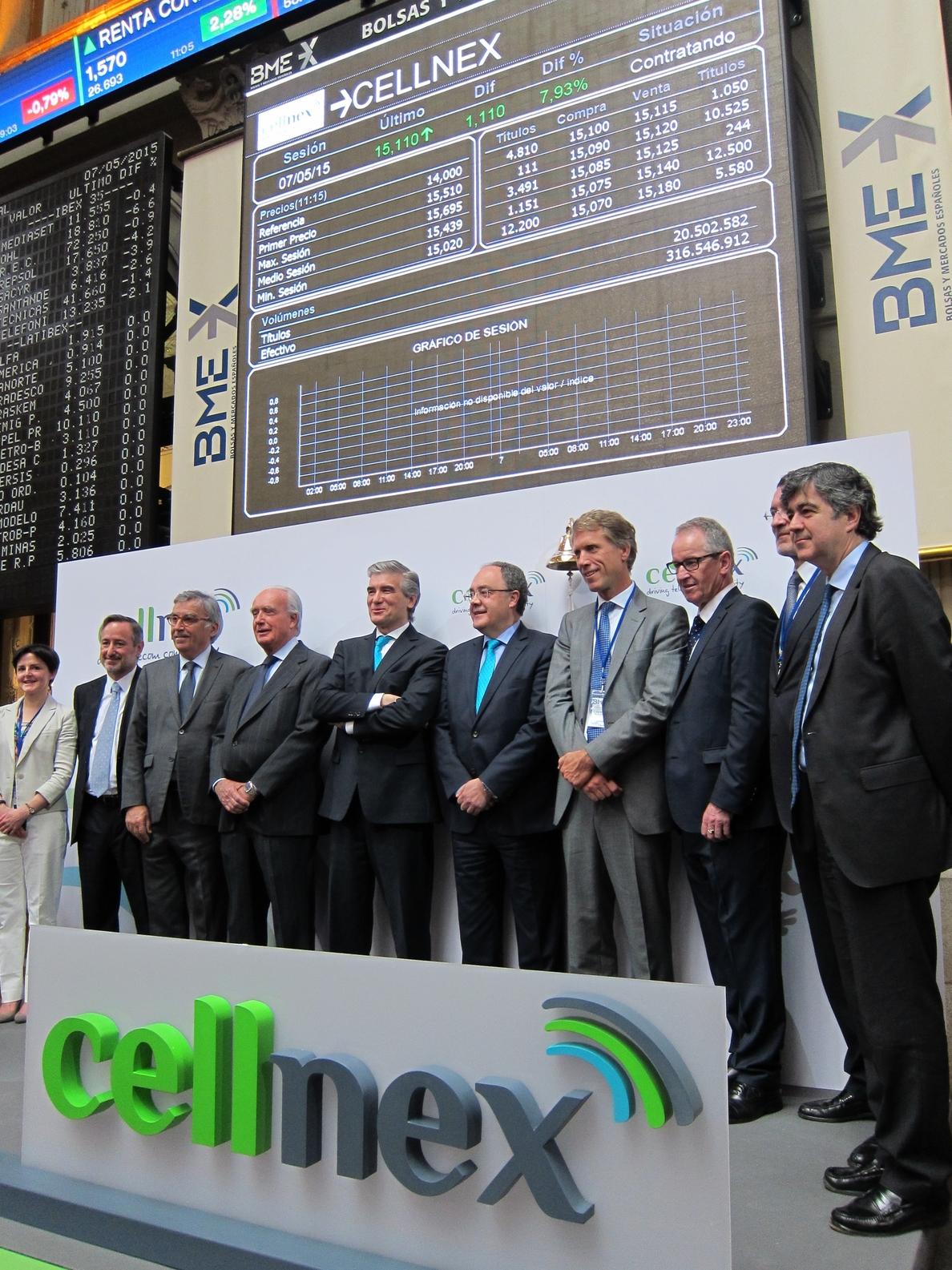 Abertis ingresa 2.140 millones con la salida a Bolsa de Cellnex
