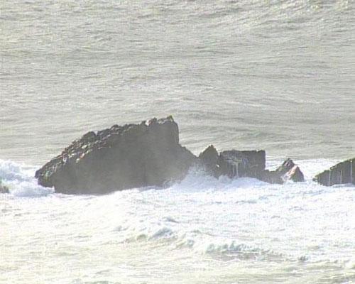 Activado el aviso amarillo por olas de hasta 5 metros en la costa vasca