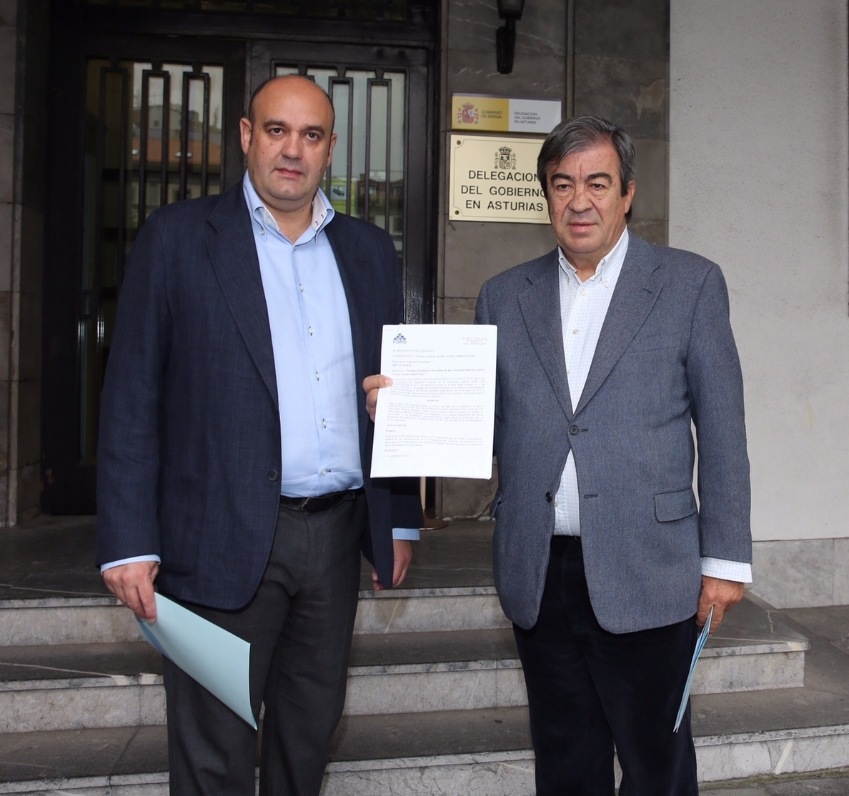 Álvarez-Cascos (Foro) advierte de que Rajoy «está sustrayendo» la alta velocidad a Asturias