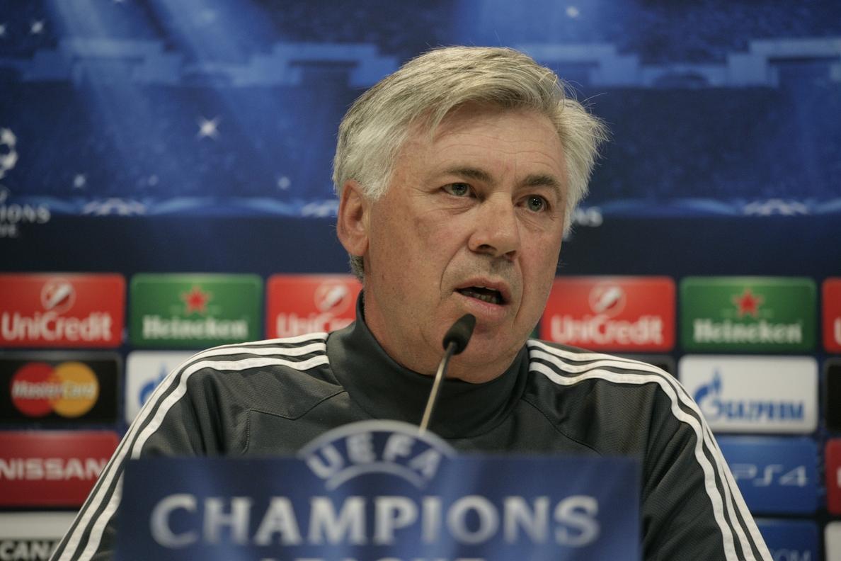 Dos partidos de sanción a Ancelotti que no volverá a sentarse hasta el año que viene