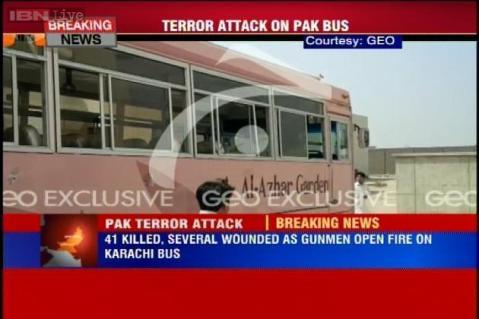 Al menos 43 muertos en un atentando contra un autocar en Pakistán
