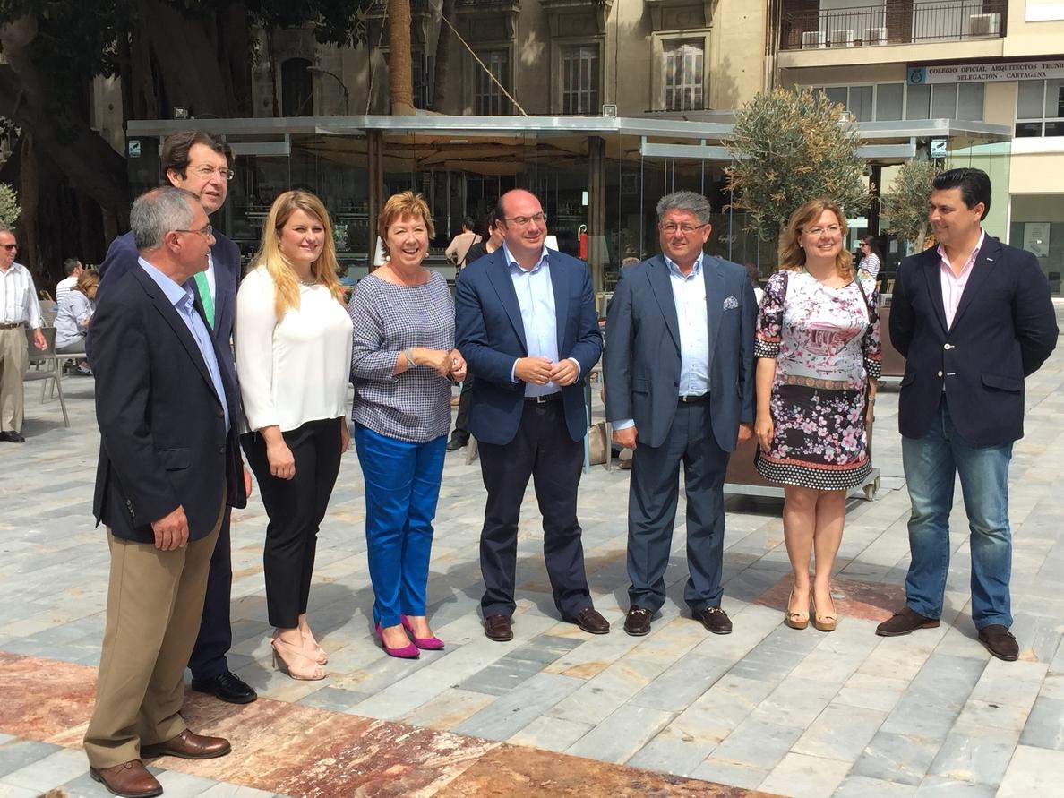 Barreiro asegura que el AVE «abrirá a Cartagena otra gran puerta hacia el turismo»