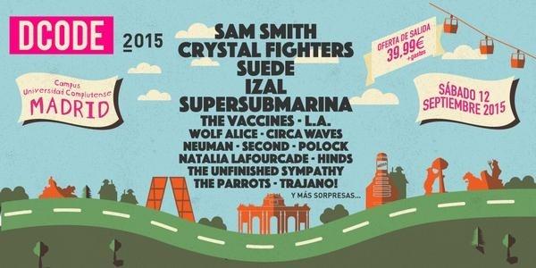 El DCODE Festival presenta su cartel para este próximo 12 de septiembre