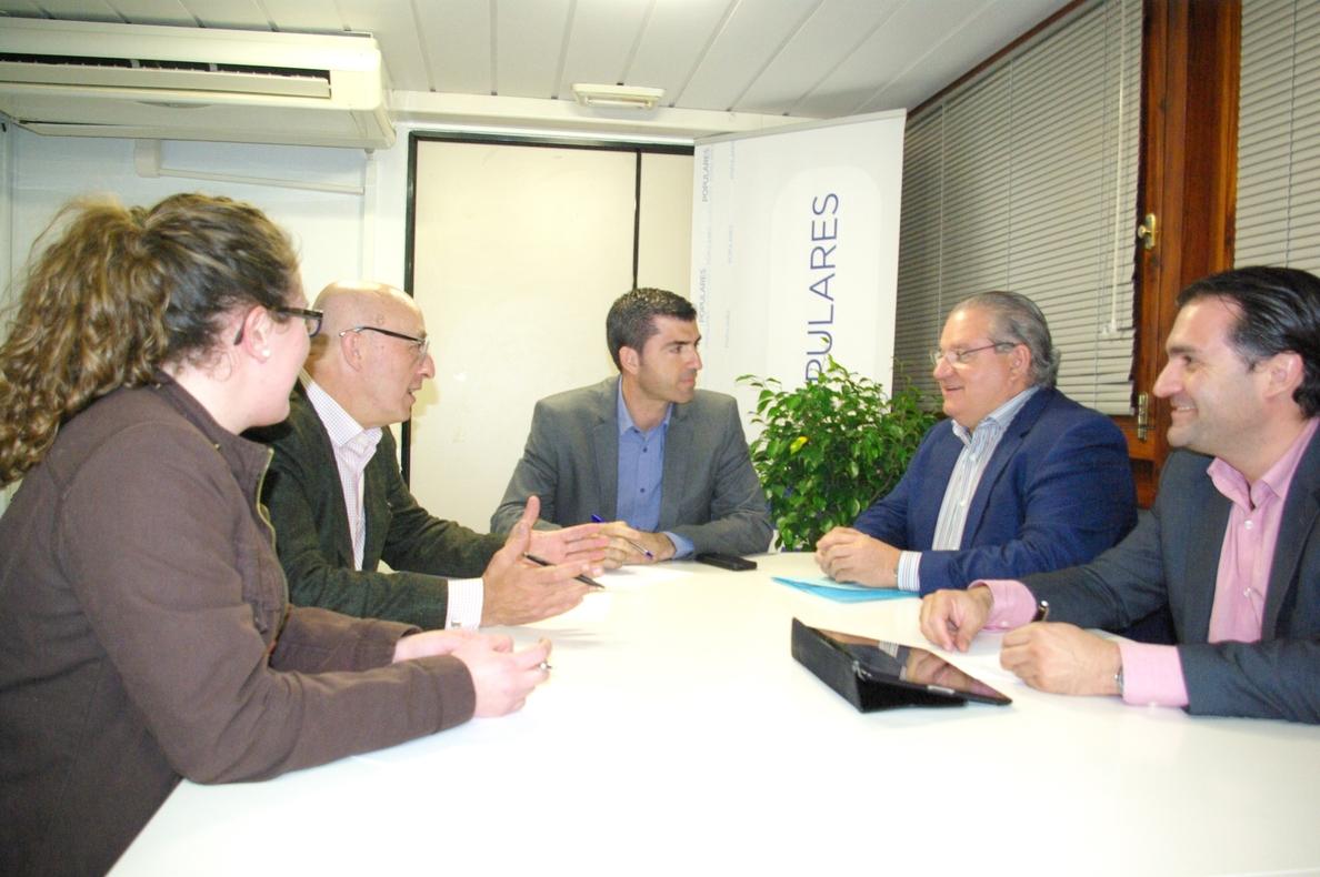Domínguez (PP) se compromete a hacer el tercer carril de la Autopista del Sur