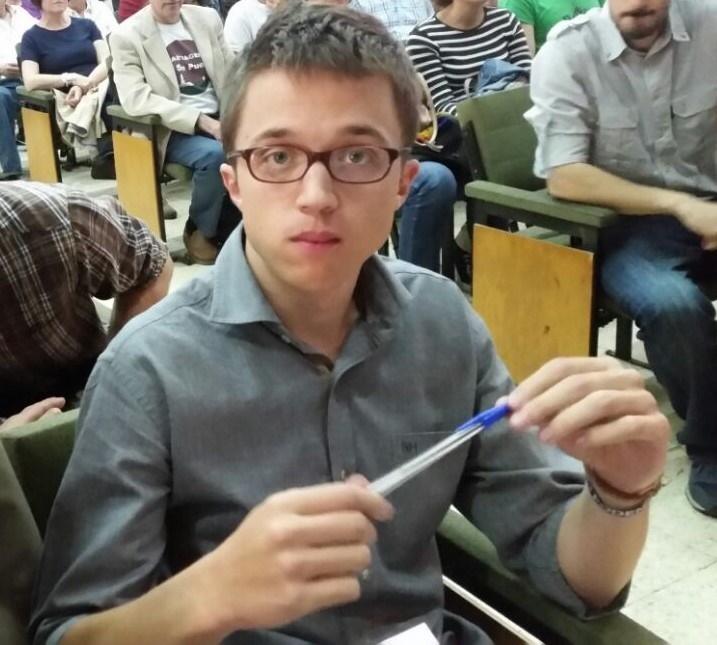 Errejón participa este jueves en el acto central de campaña de Podemos en Las Palmas de Gran Canaria