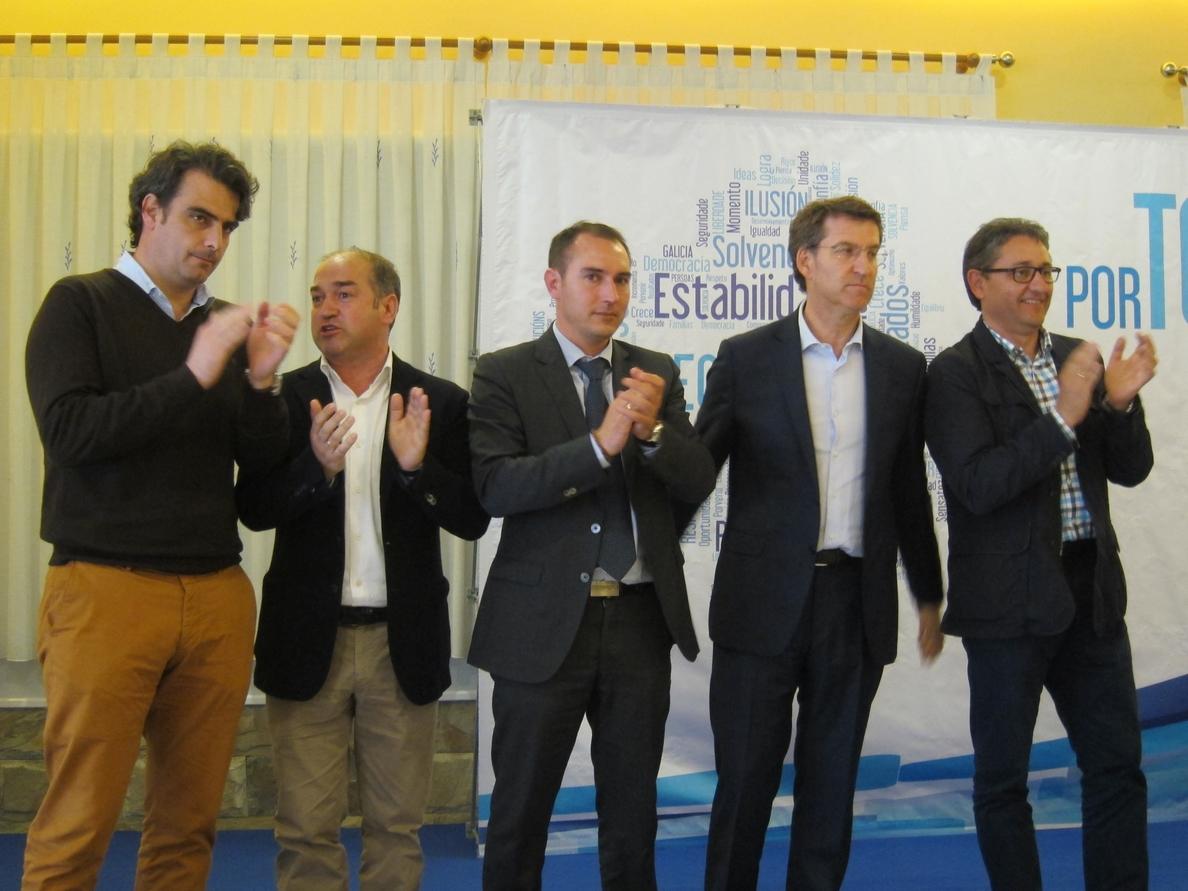 Feijóo contraataca a Iglesias y pide el «voto a los moderados del PSOE» frente a «radicales y los que insultan»