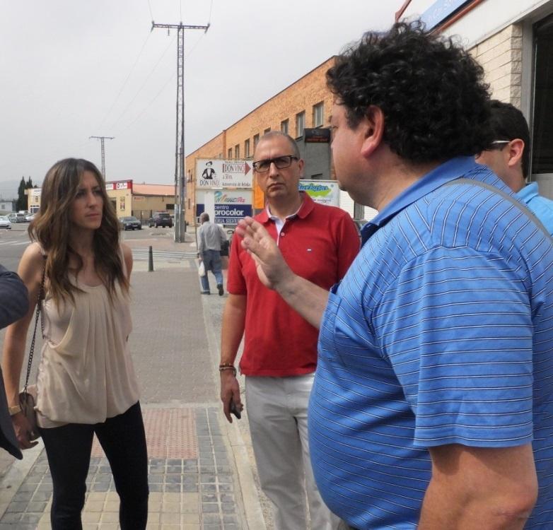Fernández (PP) marca «en rojo» la renovación del polígono industrial de El Cerro en Segovia