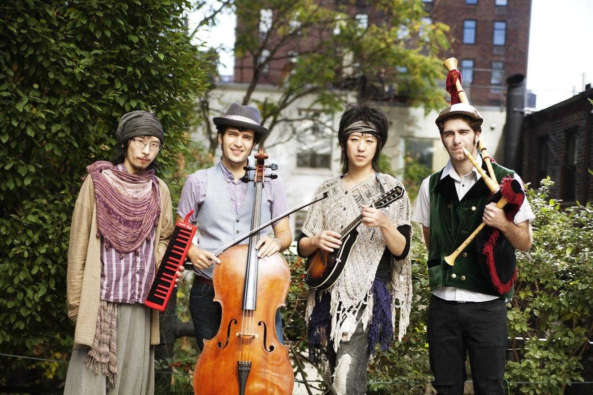 Fuxida, el grupo asturjaponés afincado en Nueva York, da un concierto en Oviedo