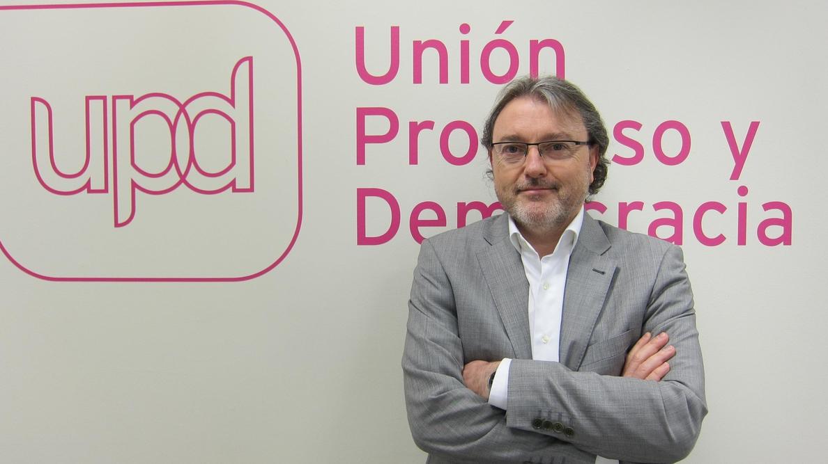 Lajara (UPyD): «Somos el único partido presente en 64 denuncias por corrupción»