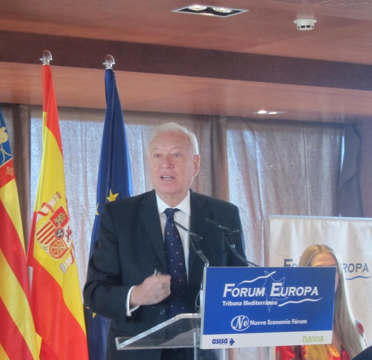 Margallo espera que prospere la Corte Penal Internacional sobre terrorismo al contar con «respaldo suficiente»