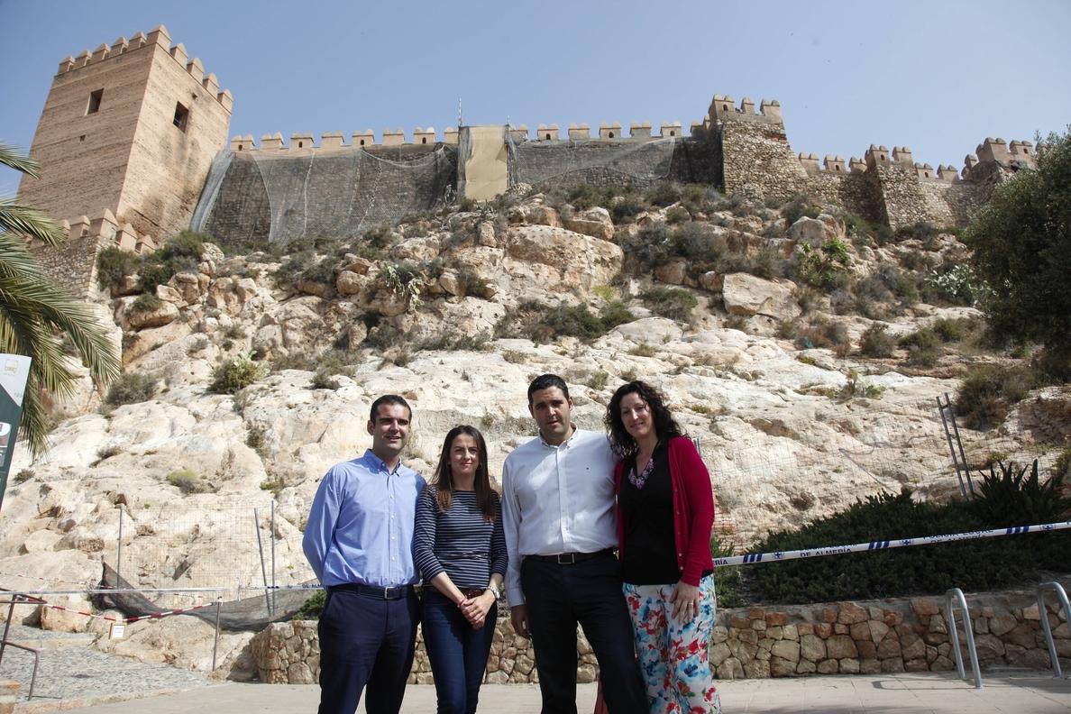 PP pedirá en el Parlamento andaluz la rehabilitación de La Alcazaba ante su «abandono» por parte de la Junta