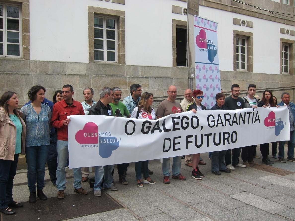 Queremos Galego llama a manifestarse este 17 de mayo para recordar que el gallego sigue vivo y es «garantía de futuro»