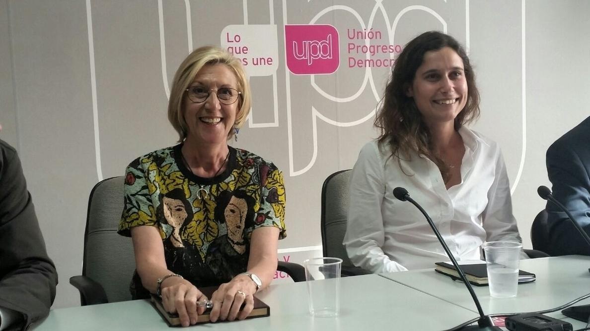 Rosa Díez, tras la demanda del PP: «Sería curioso que UPyD fuese el primer partido condenado por la »caja B» del PP»