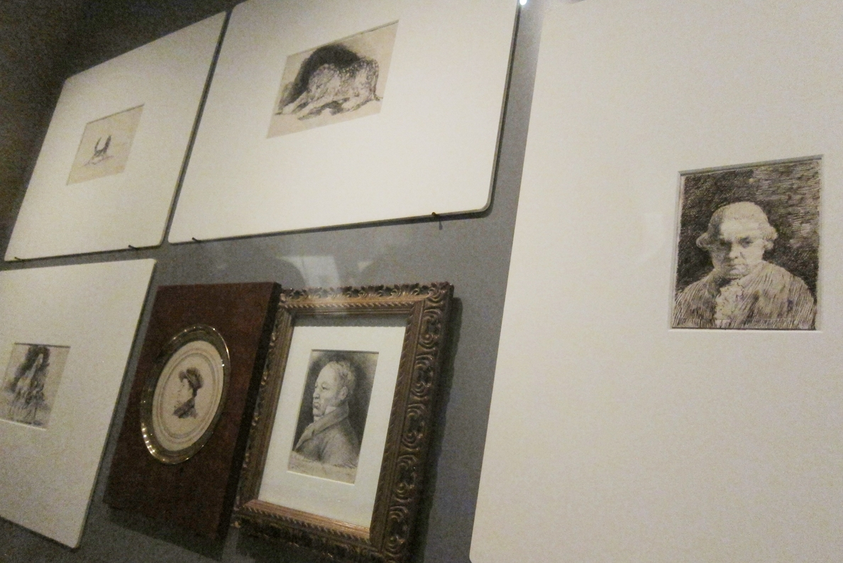 Los trazos de Rosario Weiss, ahijada de Goya, en el Museo Lázaro Galdiano