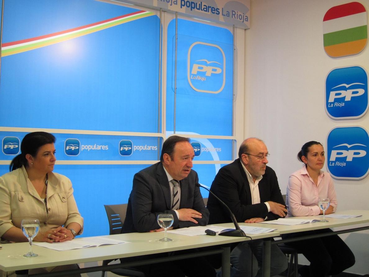 Sanz dice que se pondrá en marcha el complejo San Millán y dos centros de Salud en Logroño y Alberite