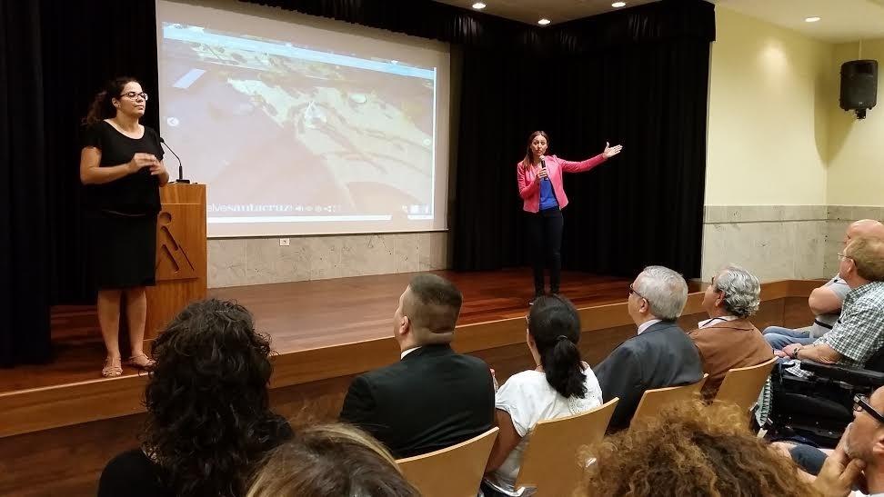 Tavío (PP) apuesta por que Santa Cruz sea »Ciudad Accesible» en 2019