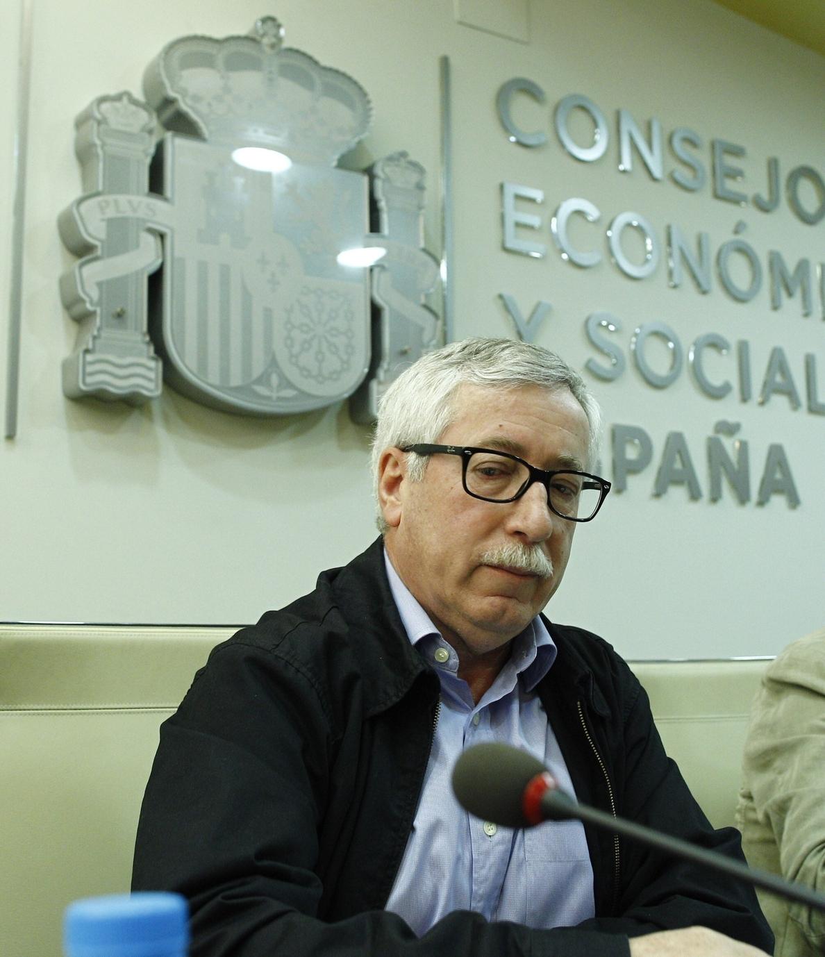 Toxo dice que no se puede pedir al nuevo AENC que «repare» toda la caída de salarios