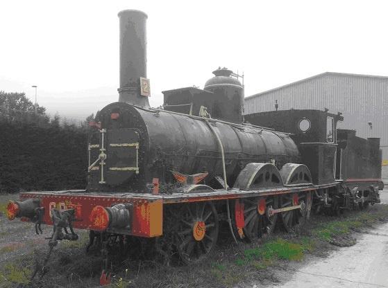 La segunda locomotora de vapor más antigua de España, fabricada en 1863, será restaurada y colocada en Trinitarios