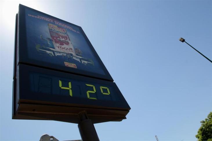 Las temperaturas bajarán estrepitosamente este jueves aunque seguirán algo por encima de lo normal