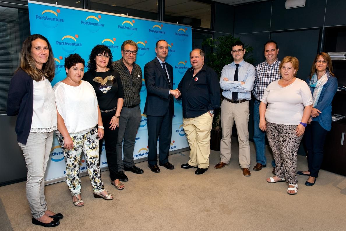PortAventura pacta el nuevo convenio colectivo con CC.OO.