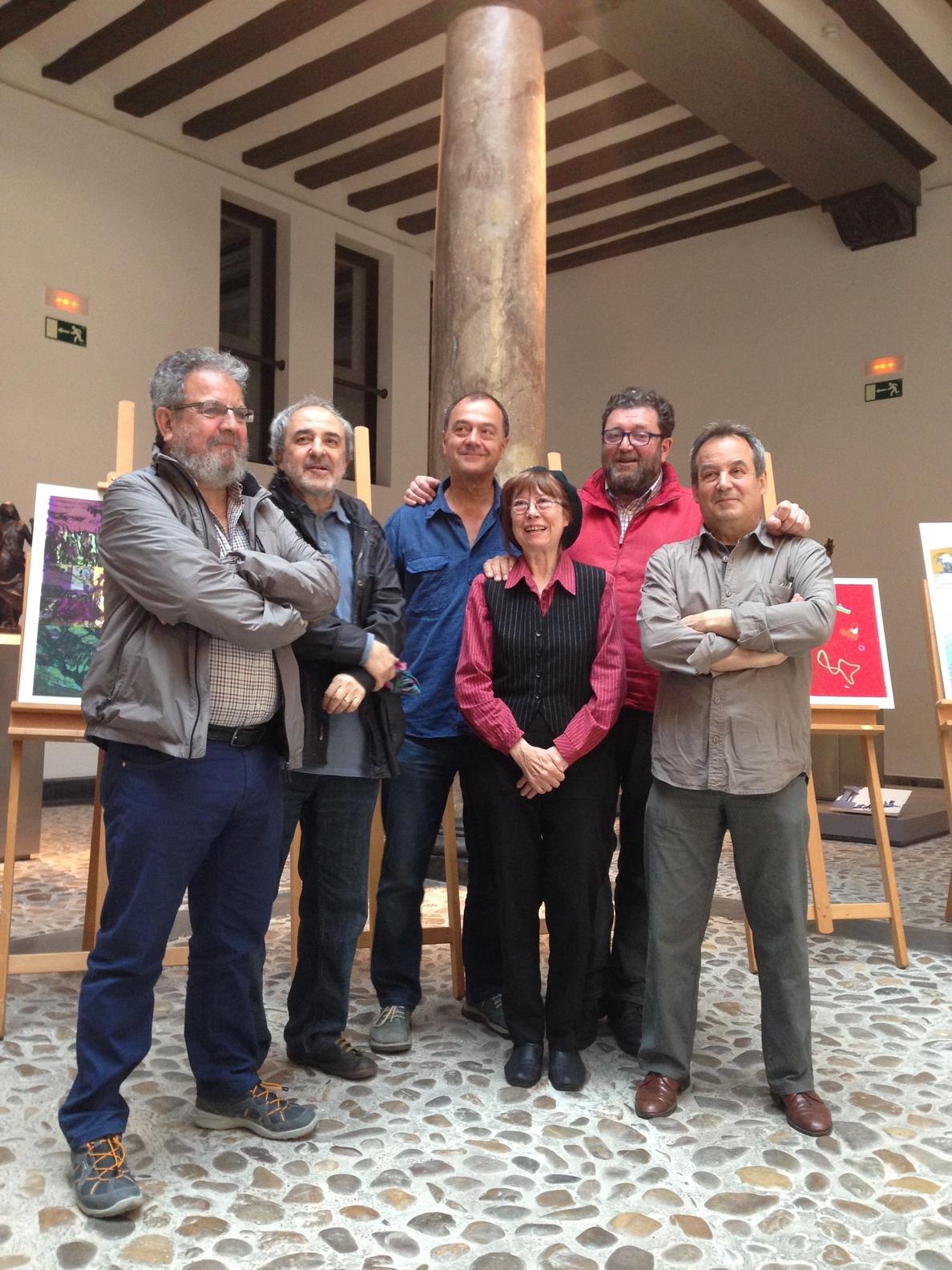 Ebrópolis edita la colección de serigrafías »Seis miradas de Zaragoza» de artistas aragoneses