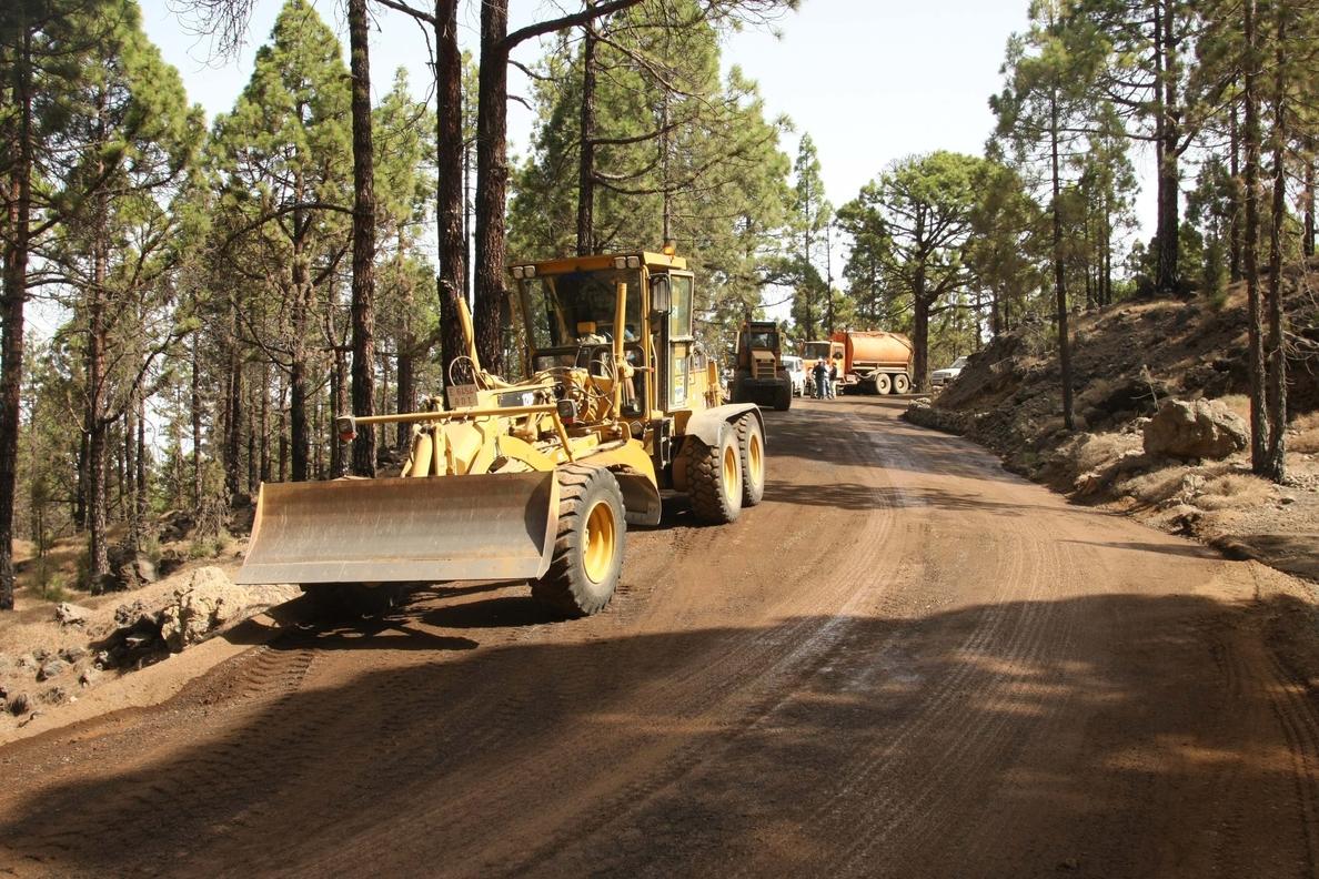 Agricultura aprueba un gasto de 1,4 millones para mantener los caminos forestales de cara a la campaña de incendios