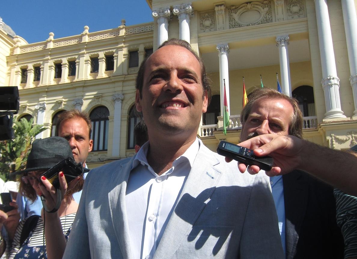 Cassá (C»s) descarta exigir en las negociaciones ser alcalde de Málaga