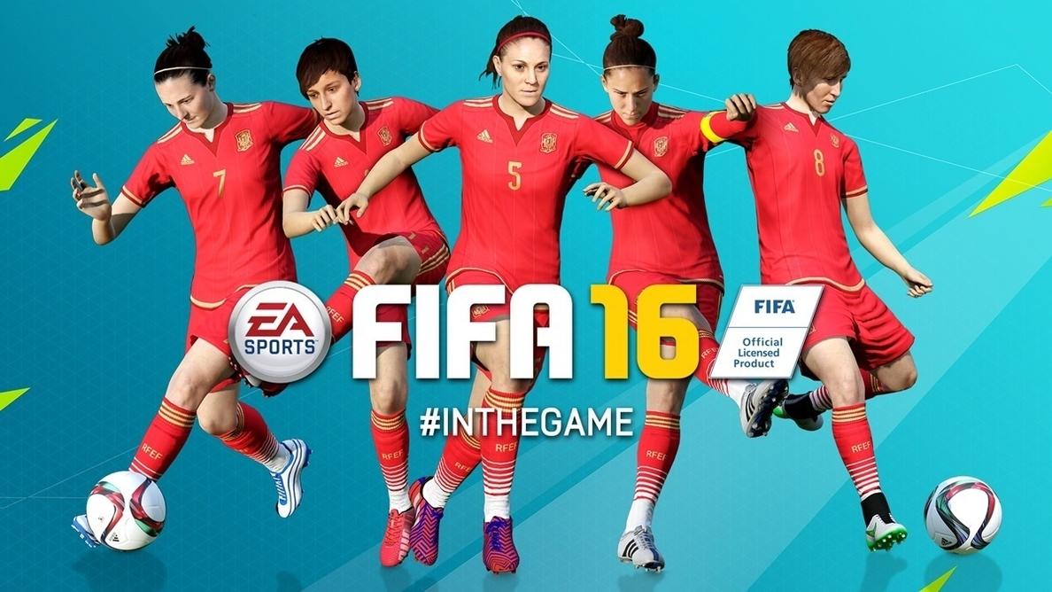La selección femenina de fútbol salta al campo en el  FIFA 2016