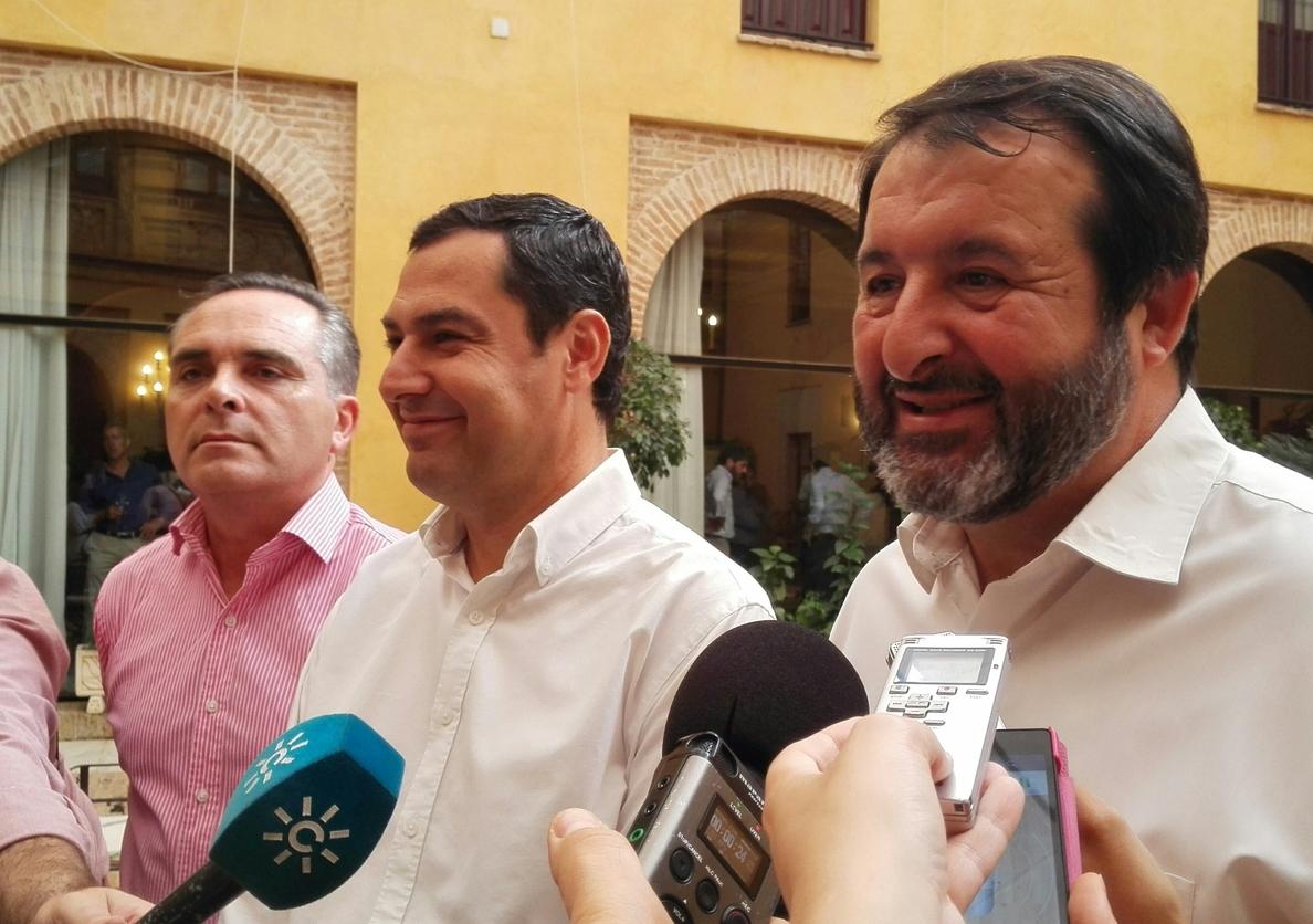 Moreno desvela que Susana Díaz le ha llamado para hablar sobre investidura y constitución de ayuntamientos