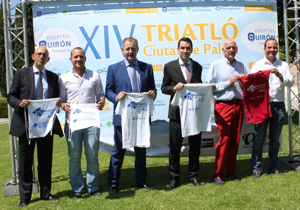 Playa de Palma acogerá este fin de semana el Triatlón Ciutat de Palma