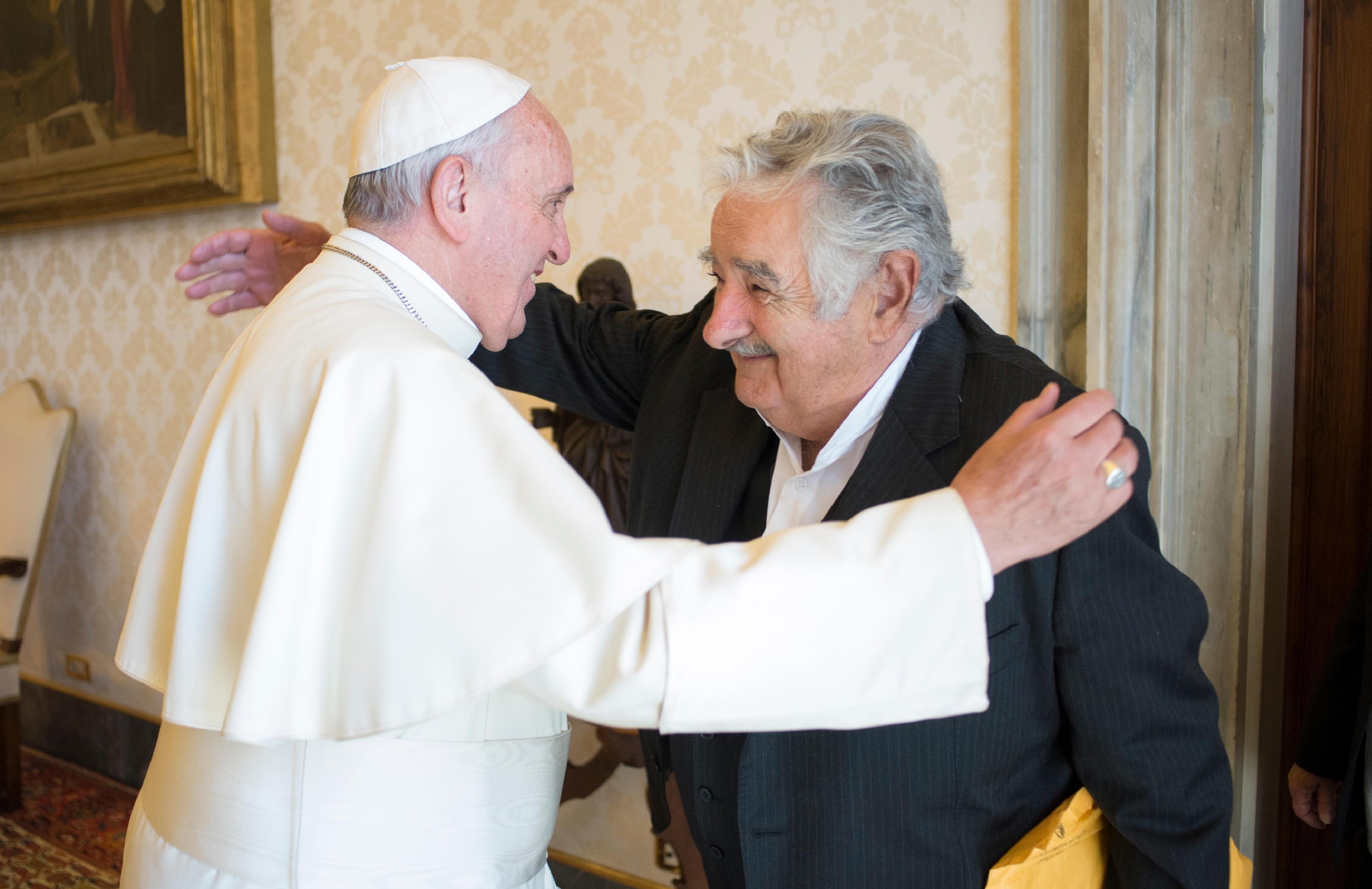 El Papa Francisco y José Mujica se reúnen en el Vaticano por segunda vez