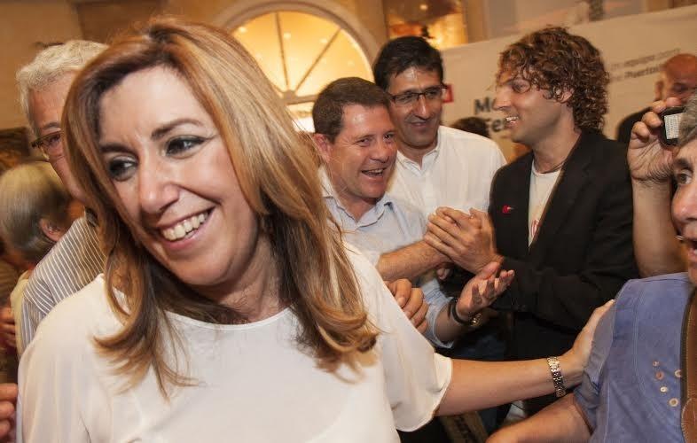Susana Díaz se reúne esta tarde con Pedro Sánchez en Ferraz